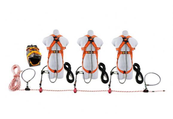 20m Rope Restraint Lifeline Kit (3 Person)